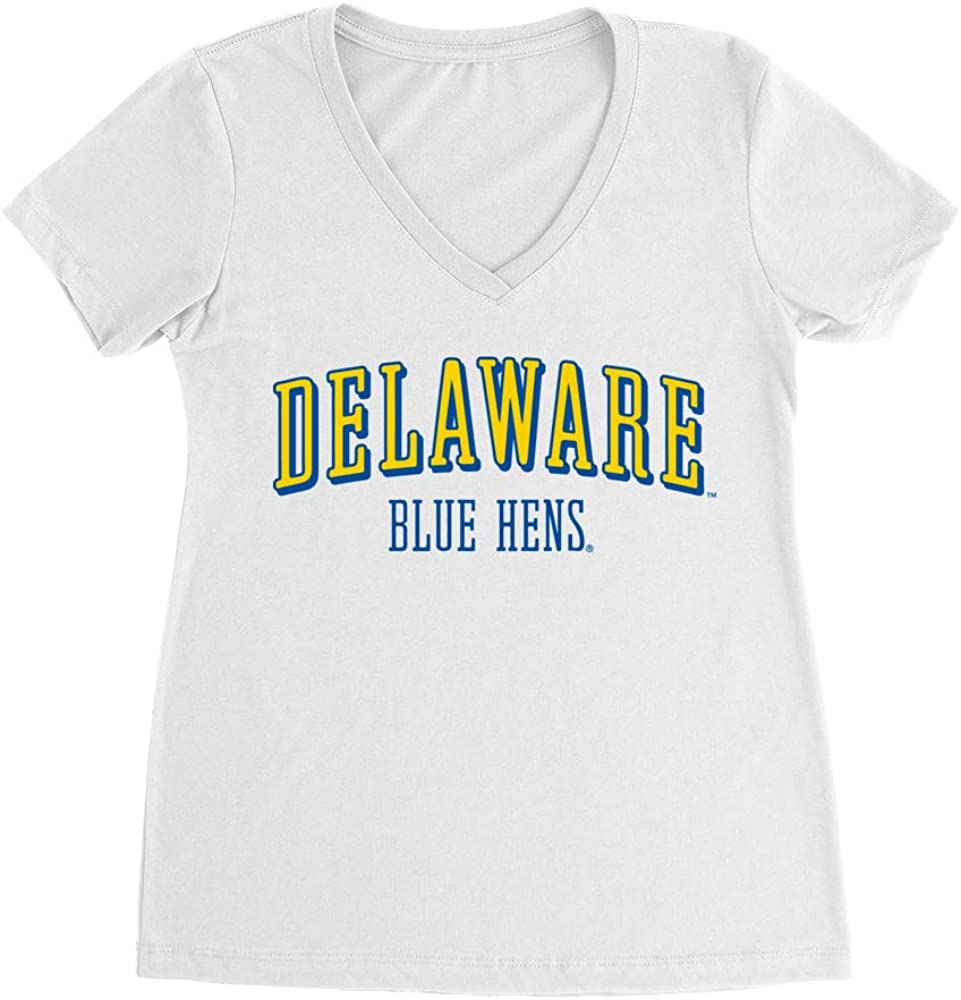 Official NCAA University of Delaware Blue Hens - RYLDEL07, G.A.1540, WHT, S 51TUHTBHhAL