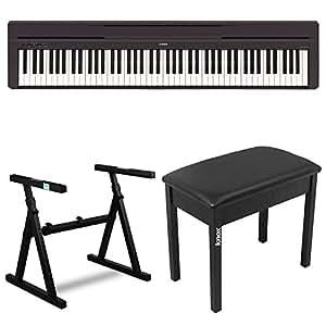 Amazon Com Yamaha P45b 88 Key Digital Piano With Knox Z