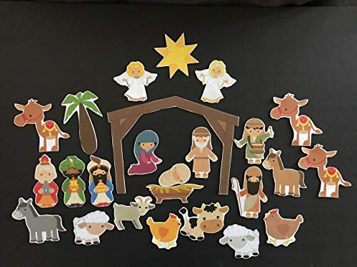 Nativity Felt Set- 25 Piece Advent Calendar