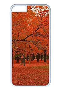 Brian114 6 plus Case, iPhone 6 plus Case - Anti-Scratch Case Bumper for iPhone 6 Plus Autumn Colors Slim Fit Case for iPhone 6 Plus 5.5 Inches
