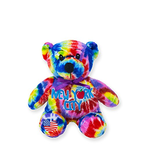 Symbolz New York City Tie-Dye Bear by RGU