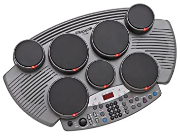 Fender Starcaster TT-1 Electronic Table-Top Drum Kit  sc 1 st  Amazon UK : table top drum set - Pezcame.Com