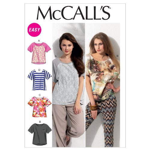 McCalls Pattern Fitting Pullover 16 18 20 22 24 26