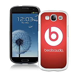 Fashion Designed Cover Case For Samsung Galaxy S3 I9300 With Beats by dr dre 13 White Phone Case