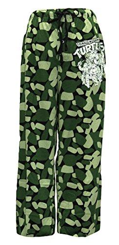 Mens Teenage Mutant Ninja Turtles Pajamas (Nickelodeon Men's Teenage Mutant Ninja Turtles Camo Lounge Pant (Camo,)