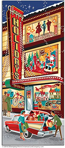 Christmastime Downtown Christmas Cards, Package of 8