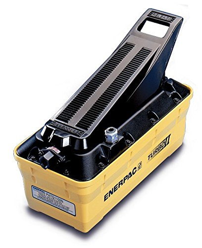 Enerpac PATG-1102N 2 Liter Turbo II Air Hydraulic Pump with 3 Way Treadle by Enerpac