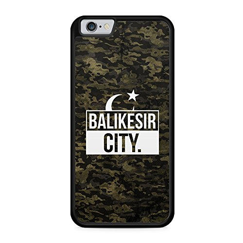 Balikesir City Camouflage - Hülle für iPhone 6 & 6s SILIKON Handyhülle Case Cover Schutzhülle Hardcase - Türkische Türkce Turkish Türkei Türkiye Turkey Türk Asker Militär Military Design
