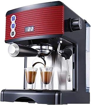 TEHWDE Máquina de café Espresso de Acero Inoxidable 15Bar Cafetera ...