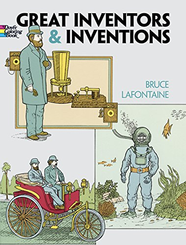 Inventions (Dover History Coloring Book) ()