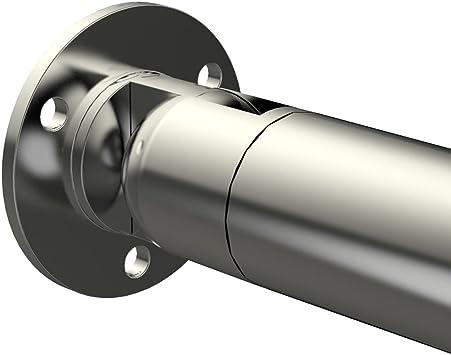 MCTECH Gel/änder Galvanisiert Handlauf Treppengel/änder Wandhandlauf Wandhalter fur den Innenbereich 80cm