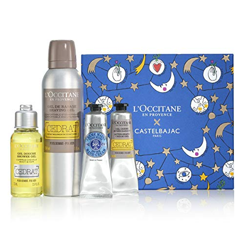 L Occitane Men s Invigorating Cedrat Shower Gel for Body Hair, 8.4 fl. oz.