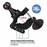 Flexzion Universal Bike Phone Mount Holder
