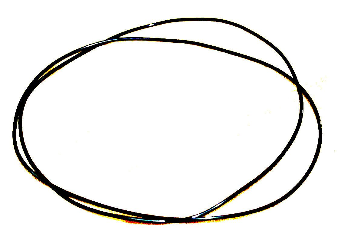 Ampex NEW 800 2100 SERIES RUBBER REEL to REEL Replacement BELTS Set of 2