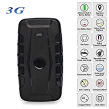 Upgraded 3G Mini Portable GPS Tracker Pets Kids Elderly Vehicle Multifunctiontracking Device 20000Mah 240 Days Standby Magnets Locator Free APP