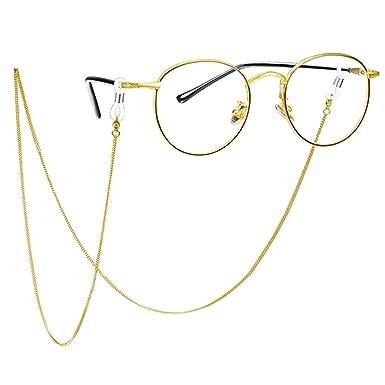 Freebily Beads Glasses Neck Cord Glasses Strap Spectacle Holder Lanyard
