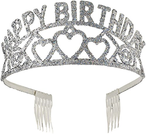 Glitter Birthday Tiara (Forum Novelties Happy Birthday Glitter Tiara)