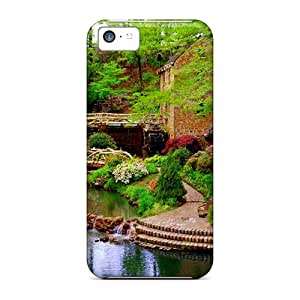 New Premium BlingBlingCase Mill Gardens Skin Case Cover Excellent Fitted For Iphone 5c