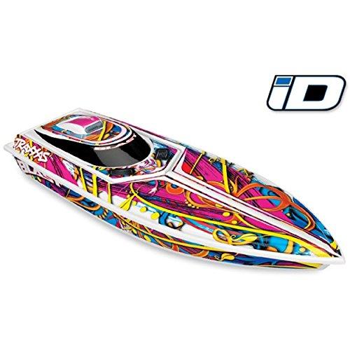 Traxxas 38104-1 Blast RTR Boat w/ESC w/TQ R Hawaiian