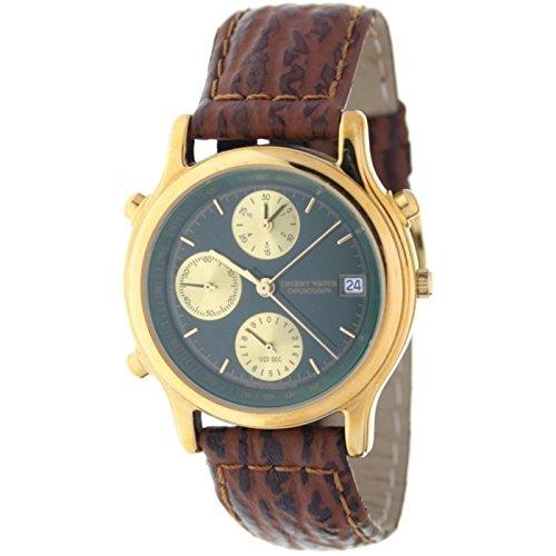 Orient Watch Hc-8243-b Reloj Analogico Para Hombre Colección Xernus Caja De Acero Inoxidable Esfera Color Negro: Amazon.es: Relojes