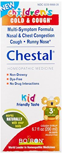 Medicine Boiron (Children's Chestal Cold & Cough Syrup Boiron 6.7 fl oz Liquid - Buy Packs and SAVE (Pack of 5))