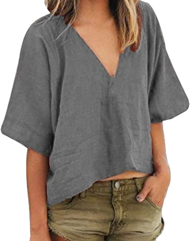 UK Women Summer Tulle Ruffle Short Sleeve T Shirt Ladies Loose Casual Blouse Top