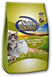 Tuffy's Pet Food NutriSource Senior Weight Management Dry Cat Food, Chicken and Rice Formula, 16-Pound