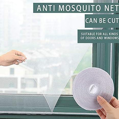 1.5m x 2m Protege al BEB/¨/¦ y la Familia de Insectos y bichos MDWK Mosquitera mosquitera mosquitera para Ventana de Puerta Viene con Tiras Autoadhesivas DIY para el hogar