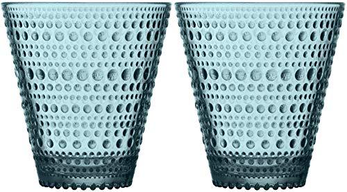 Iittala Kastehelmi Tumbler Set/2 10 oz Sea Blue