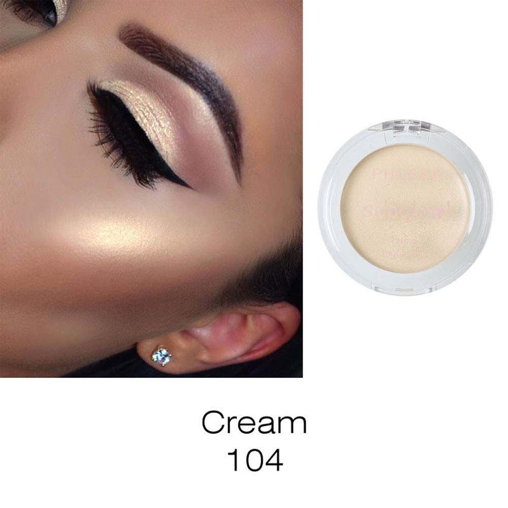 Makeup Eyeshadow PHOERA Highlighter Make Up Shimmer Cream Face Highlight Eyeshadow Glow Bronzer Eye Shadow