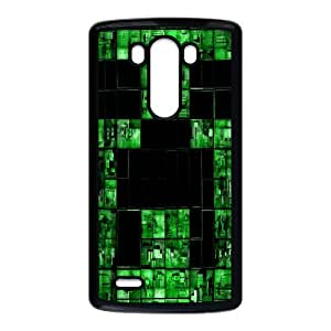 Classic Case MINECRAFT pattern design For LG G3 Phone Case