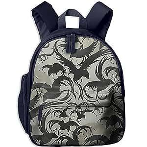 Happy Halloween Adjustable Shoulder Straps Backpack Children's School Bag Kid's Bookbag