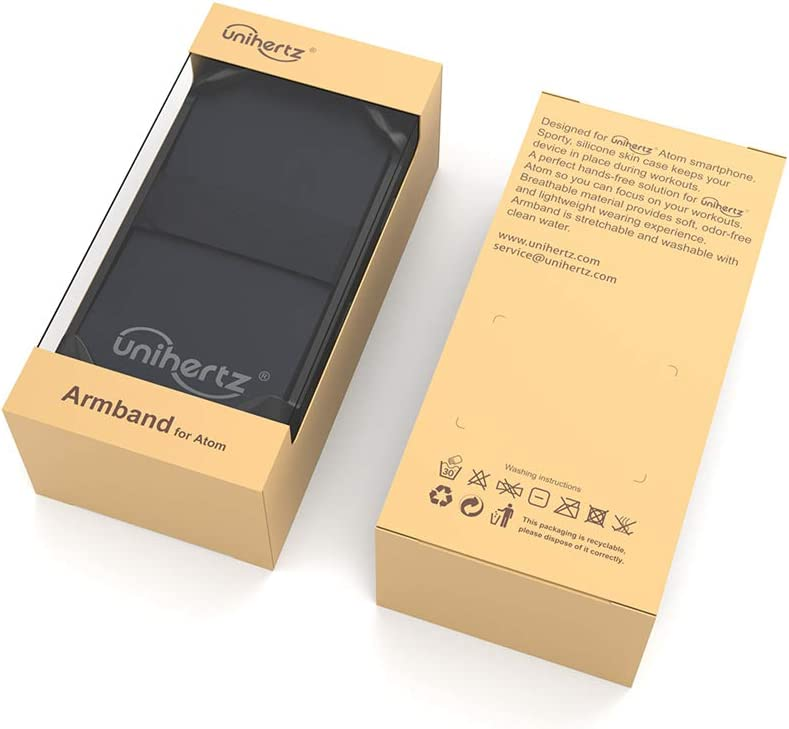 Unihertz Brazalete Atom, el Smartphone 4G Escabroso más pequeño ...