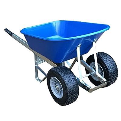 120L Two Wheel Wheelbarrow Fatboy Wheels