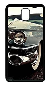 Note 3 Case, Galaxy Note 3 Case, [Perfect Fit] Soft TPU Crystal Clear [Scratch Resistant] Cadillac Fleetwood Elegant Old Ideas Back Case Cover for Samsung Galaxy Note 3 N9000 Cases