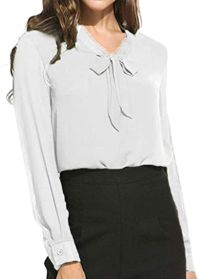 VJGOAL Camisas para Mujer Talla Grande Casual Moda Color ...