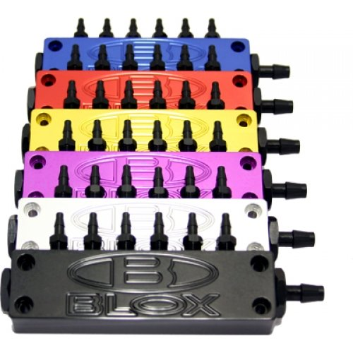 Blox Racing BXIM-10010-GD SURFACE-MOUNT VACUUM BLOCKS - CAN BE INSTALLED ON INTAKE MANIFOLDS V3 by Blox Racing