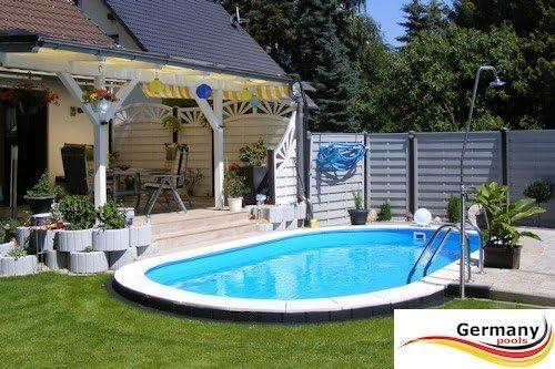 Piscina ovalada de aluminio, 6, 15 x 3, 00 x 1, 50 m, piscina ovalada de aluminio, 6, 15 x 3, 0 x 1, 5, piscina empotrada, piscina montada, piscina montada, piscina