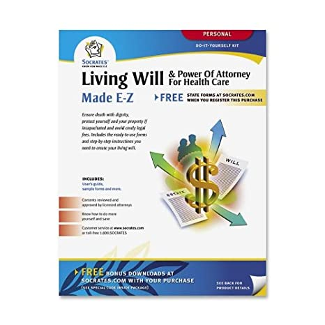 Amazoncom Socrates Media K Living WillPower Of Attorney For - Socrates legal forms