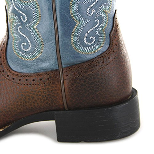 FB Fashion Boots Women's Quickdraw 4720 Cowboy Boots Brown Sapphire ACeup9CXOV