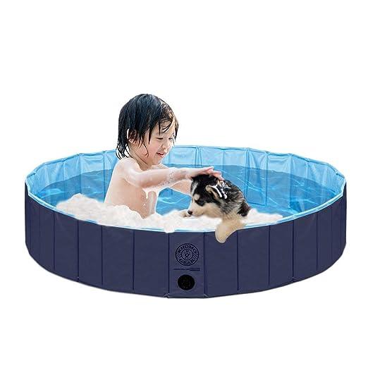 KOPEKS Piscina Extra Grande Infantil Ideal para Niños/Mascotas ...