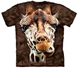 The Mountain Men's Giraffe T-Shirt, Brown, Large