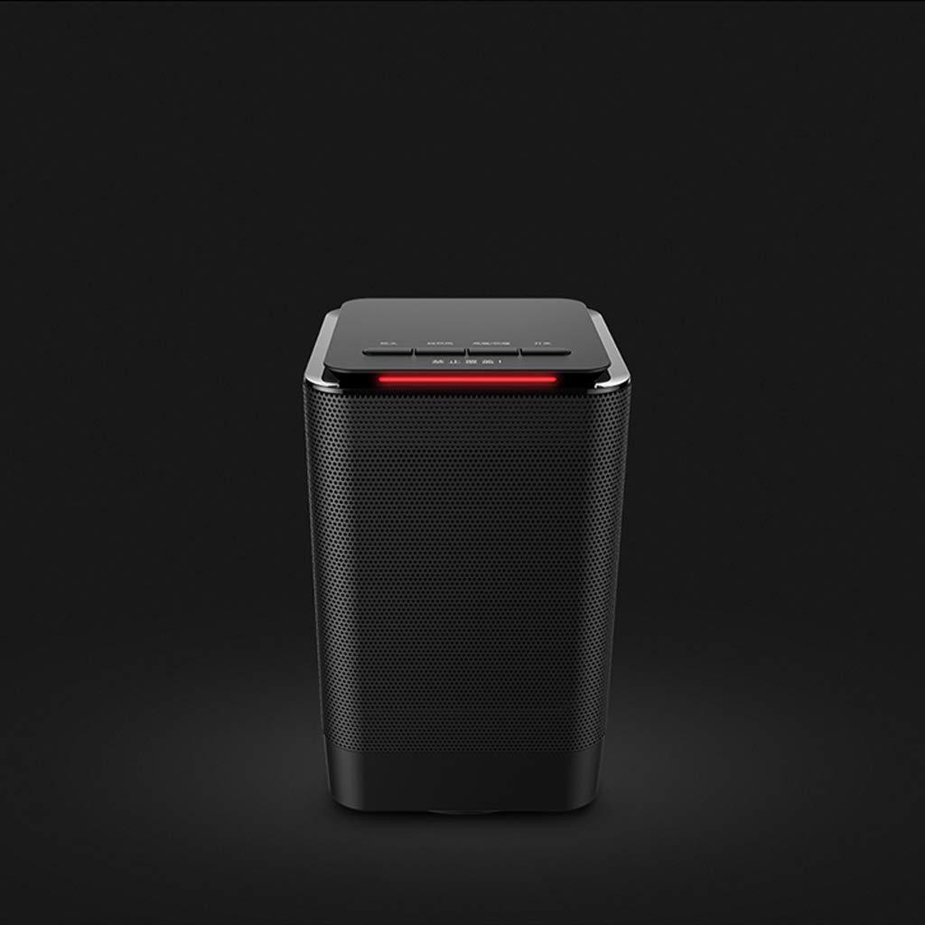 ZL Calentador el/éctrico Negro para Ventilador de Torre Mini refrigerador port/átil y calefacci/ón Calentador de Seguridad Que se calienta Calefactor Personal de cer/ámica de Uso m/últiple de cer/ámica