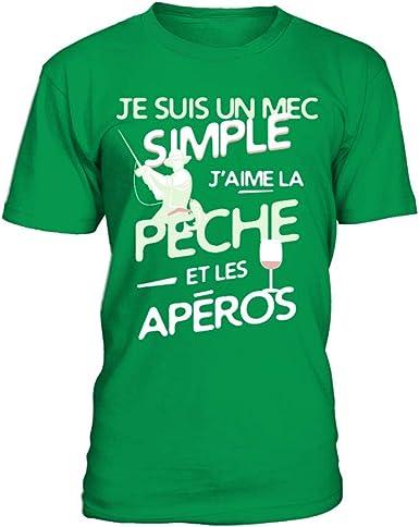 TEEZILY T-Shirt Homme Jaime Le mais Aussi.