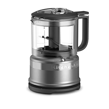 KitchenAid KFC3516CU 3.5 Cup Food Chopper, Contour Silver