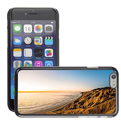"""Stampato Modelli Hard plastica Custodie indietro Case Cover pelle protettiva Per // M00421555 Côte Shore Hills Montagnes Cliffs // Apple iPhone 6 4.7"""""""