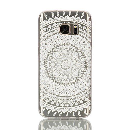 360 Full Hard Plastic Case for Samsung S7 Edge (White) - 6