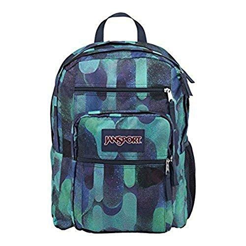 JanSport Mens Classic Mainstream Big Student Backpack - Multi Lava Lamp / 17.5