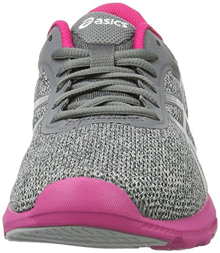 Nitrofuze White Asics Midgrey Blue Shoes Sport Gymnastics Grey Women's Pink One Size CCrxwOqz