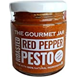 The Gourmet Jar Roasted Red Pepper Pesto with Chironji Seeds, 110g